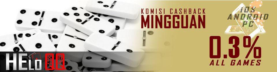 Promo cashback judi poker online